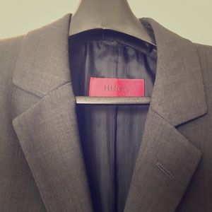 Hugo Boss Red Label Charcoal Grey Suit